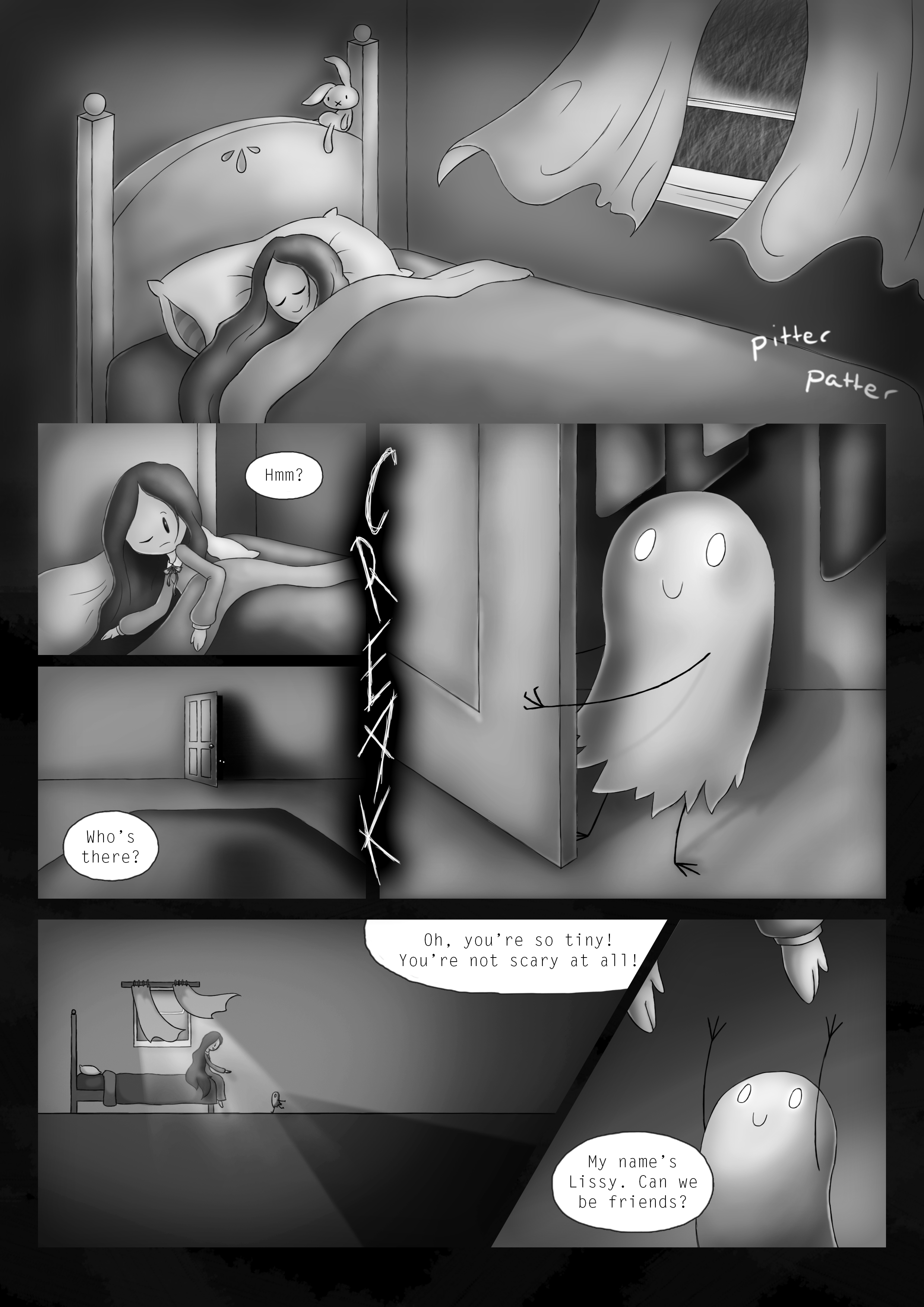 """Best Friend"" - Page 1"