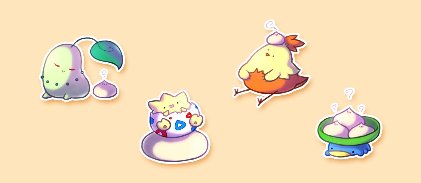 Pokemon and Bao 5