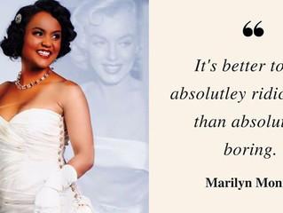 It's a Black Marilyn...