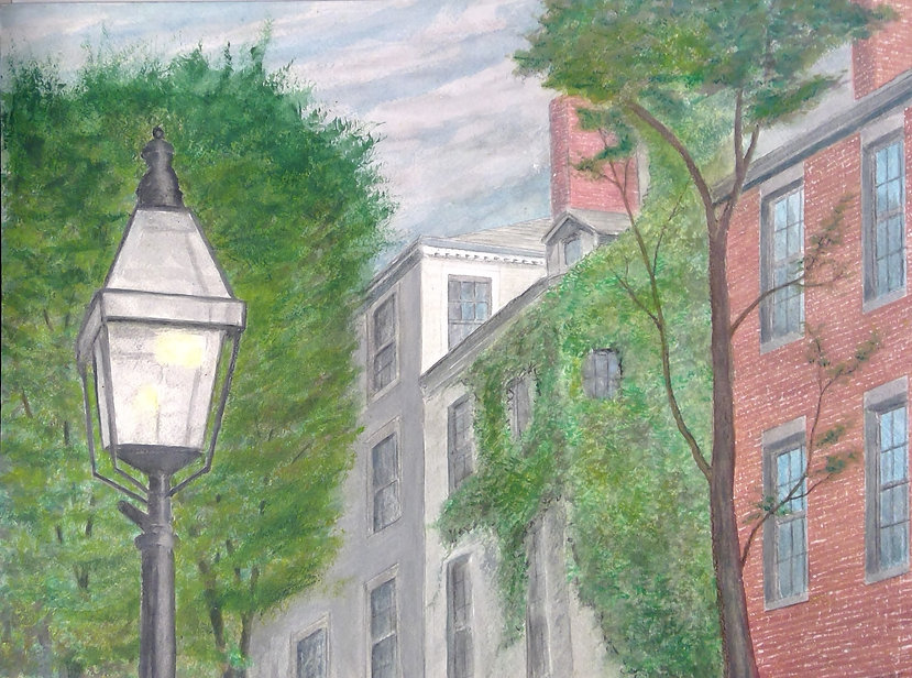 Beacon Hill Boston Ma. 12 x 16.jpg