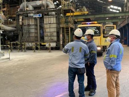 Una delegación China experta en reciclaje de aluminio visita la planta de Alu Ibérica de Avilés