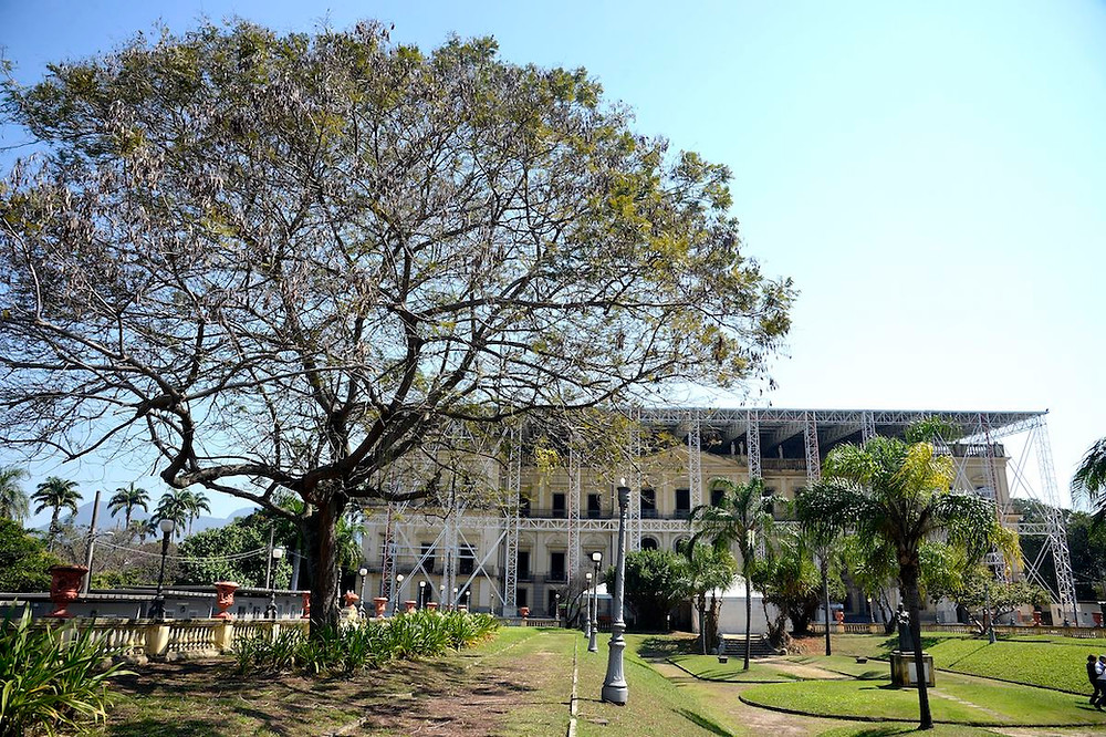 Museu Nacional em recuperação