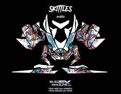Skittles-Splatter