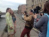 Съемки клипа Мадонна из Купчино
