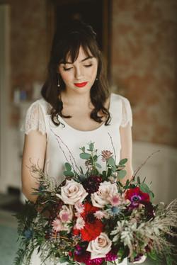 Make up artist Rebecca O' Sullivan