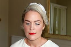 Make up artist Rebecca O'Sullivan