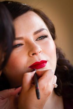 Make up artist Rebecca O Sullivan