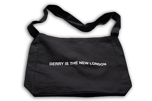 DERRY IS THE NEW LONDON MESSENGER BAG