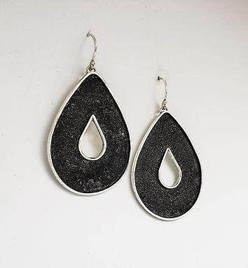 large teardrop earrings