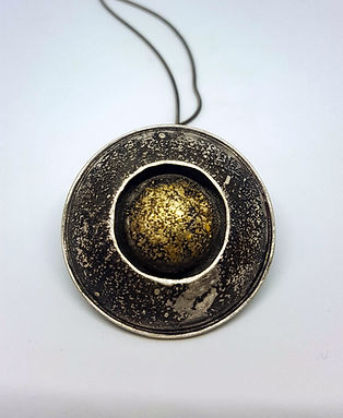 double dome wi/ 24k gold