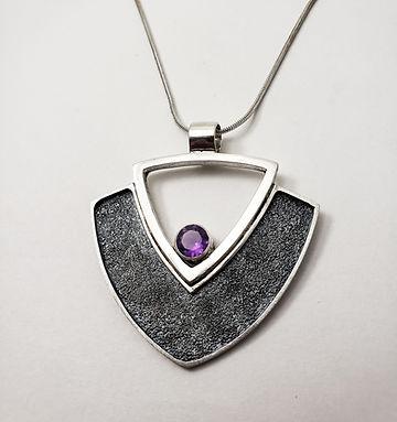 large shield pendant