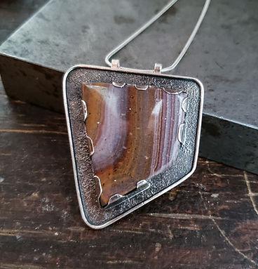 jasper pendant