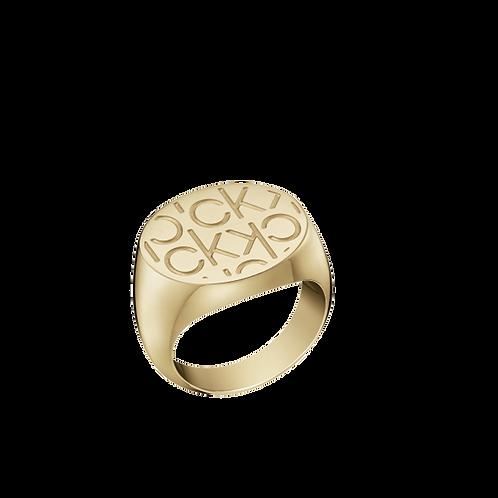 Calvin Klein Mania Dourado KJDEJR1002XX