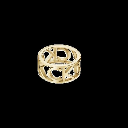 Calvin Klein Mania Anel Dourado KJCSJR1001