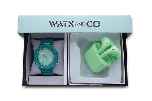 Pack Watx Original Green / Green Earbud