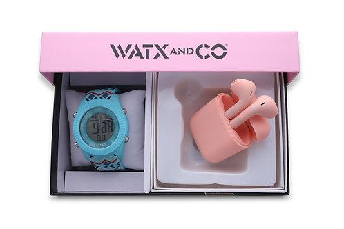 Pack Watx Smart Blue / Pink Earbud
