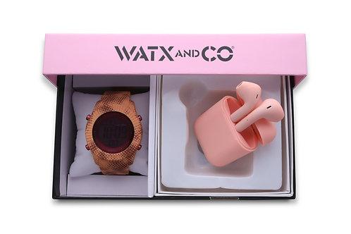 Pack Watx Smart Coral / Pink Earbud