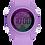Thumbnail: Pack Watx Smart Purple / Pink Earbud