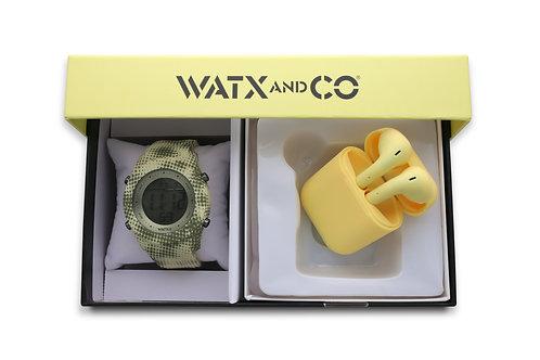Pack Watx Smart Yellow / Yellow Earbud