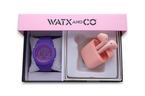 Pack Watx Smart Purple / Pink Earbud