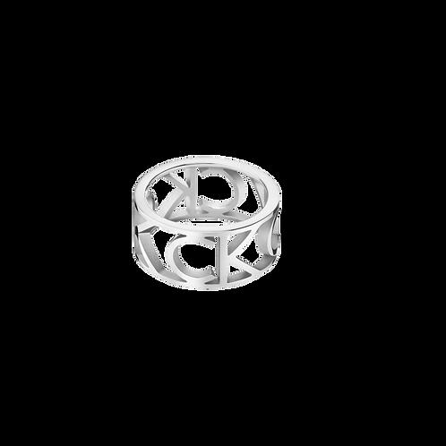 Calvin Klein Mania Anel Aço KJCSMR0001