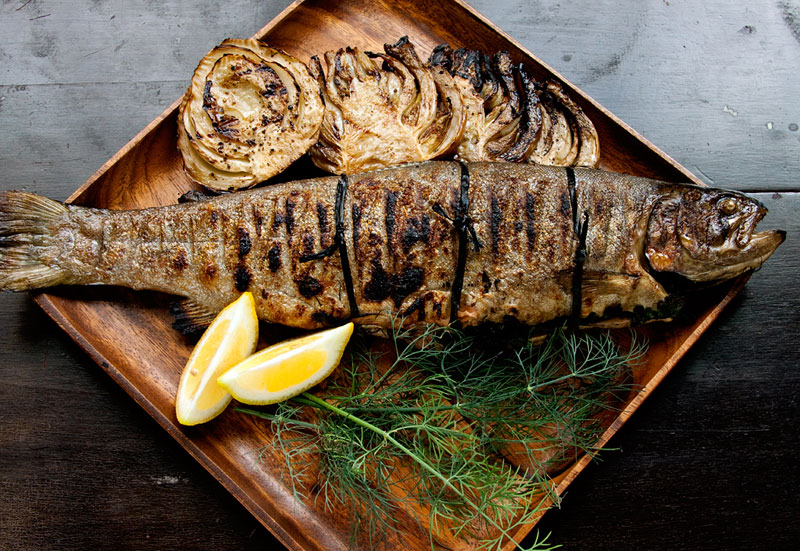 Grilled-Trout-on-Plate