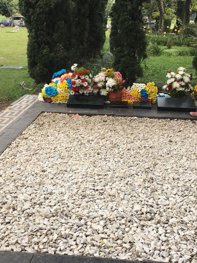 O túmulo do Pablo