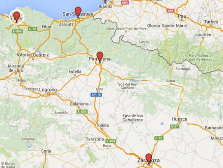 Uma volta pela região de Navarra (Espanha)