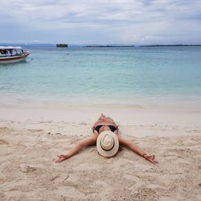 Praia no Panamá: San Blas