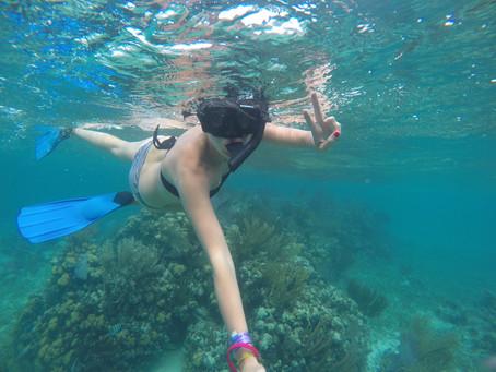 A ilha de Caye Ambergris