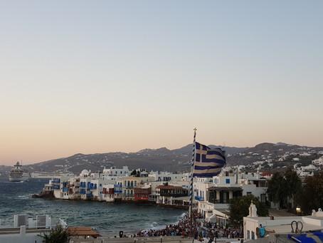 Grécia: admirável Mykonos