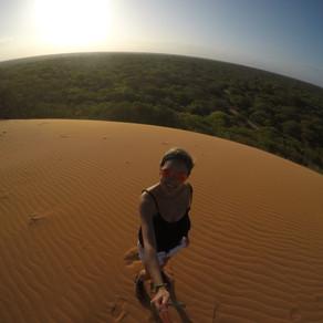 Sozinha pela África