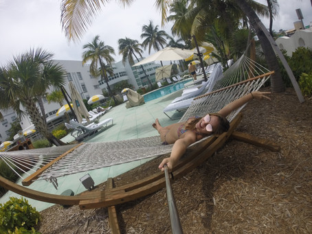 A praia mais badalada de Miami
