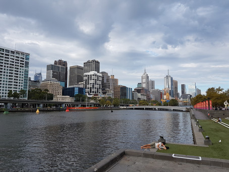 Melbourne e a ventania clássica!