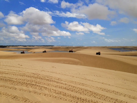 Maranhão: Lençóis Maranhenses de quadriciclo