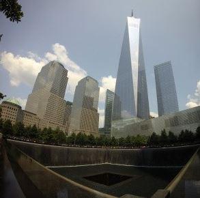Vista torres memoria 9/11