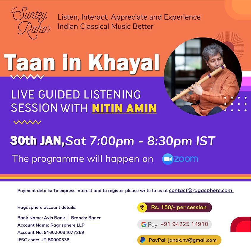Suntey Raho - Guided Listening Session - 30th Jan 2021