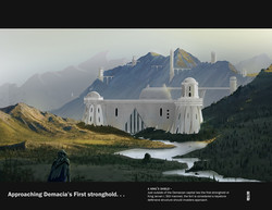 Approaching Demacia's First Stronghold