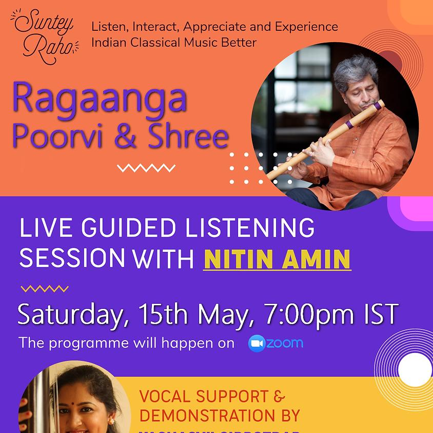 Suntey Raho - Ragaanga Poorvi and Shree: 15th May 2021