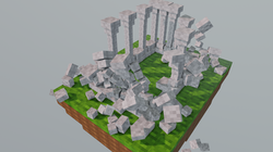 Minecraft Falling Towers