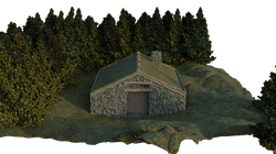 Grassy Stone Cottage Front