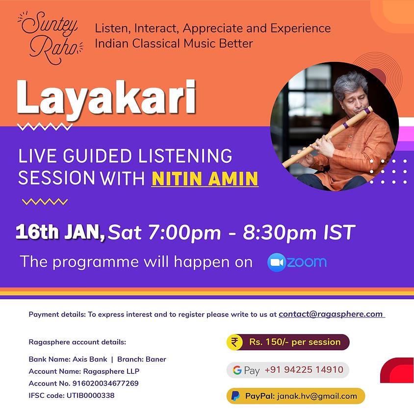 Suntey Raho - Guided Listening Session - 16th Jan 2021