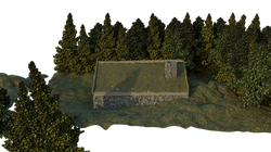 Grassy Stone Cottage Side