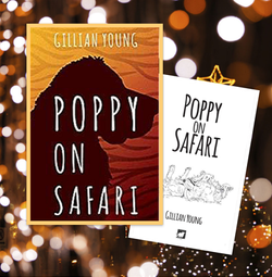 Proud to present, Poppy on Safari!