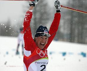 Kateřina Neumannová, cross-country ski Olympic winner and World champion