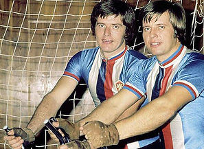 Pospíšil brothers - multiple World champions in cycle ball