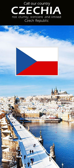 Call our country Czechia