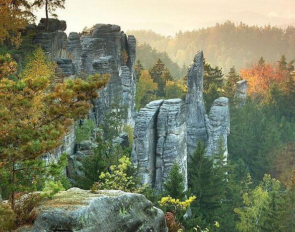 Prachov rocks (Bohemian Paradise), Czechia