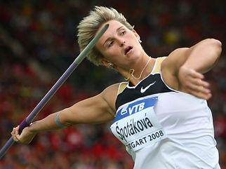 Barbora Špotáková, multiple World champion and record holder