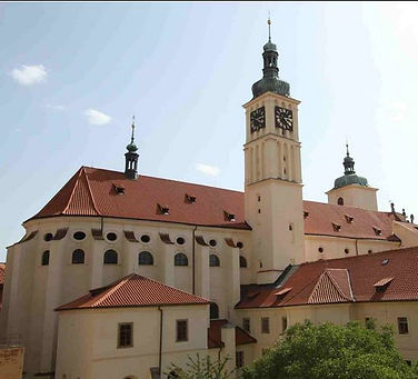 The church of St.James the Greater, Old Town, Prague, Czechia